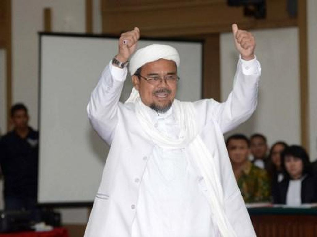 Wanti-wanti untuk Penyambutan Habib Rizieq di Tengah Pandemi