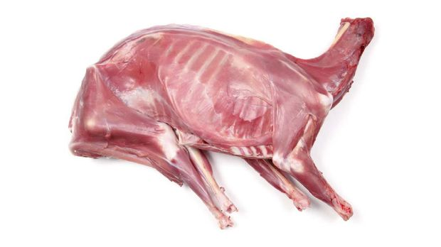 Piece of Fresh Goat Meat