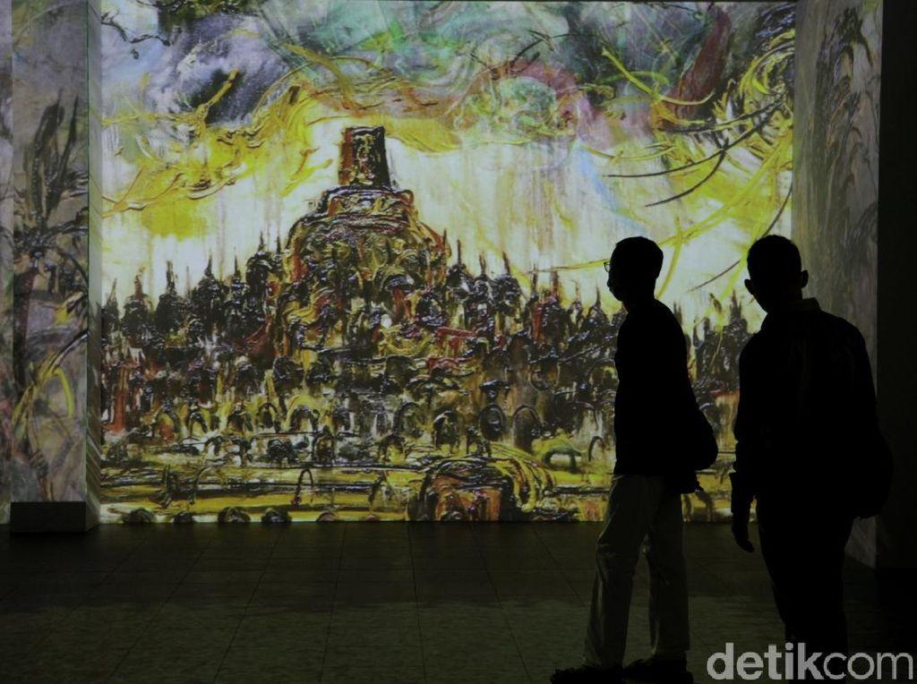 Pameran Imersif Affandi Jadi yang Terpopuler di Galeri Nasional Indonesia