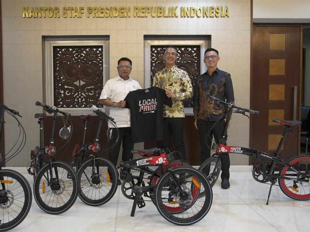 Sepeda Daniel Mananta Diberikan ke KSP, KPK Minta jadi Barang Milik Negara