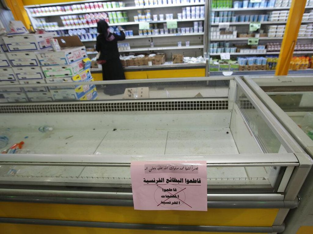 Dampak Seruan Boikot Produk Prancis ke Ekonomi RI