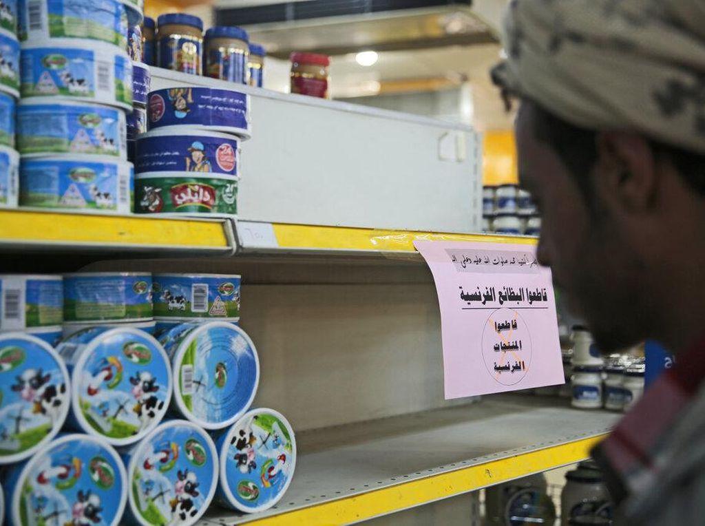 Video Aksi Boikot Produk Prancis di Berbagai Negara Islam