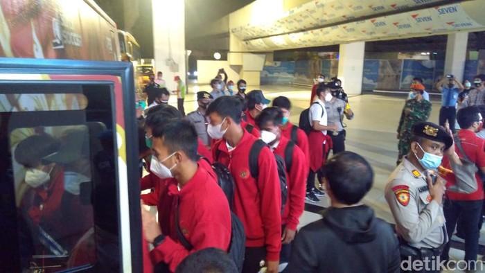 Timnas U-19 Tiba di Indonesia