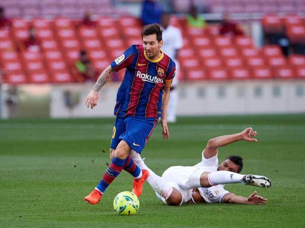 Messi yang Ahli Membaca Lawan