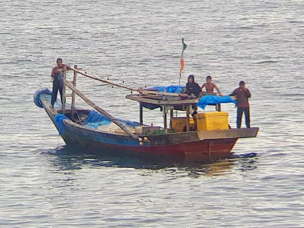 Tim SAR Telusuri Informasi Kecelakaan Laut di Perairan Sukabumi