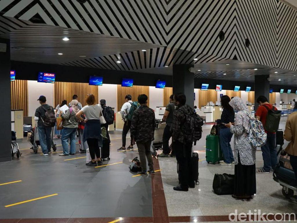Libur Panjang, Jumlah Penumpang di Bandara Juanda Meningkat