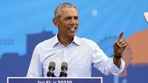 Obama Ejek Trump: Dia Iri dengan Liputan Media untuk Corona
