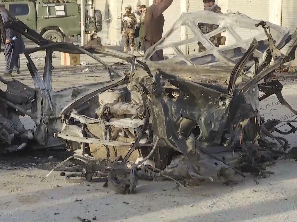 Bom Mobil Meledak di Afghanistan, 3 Orang Tewas
