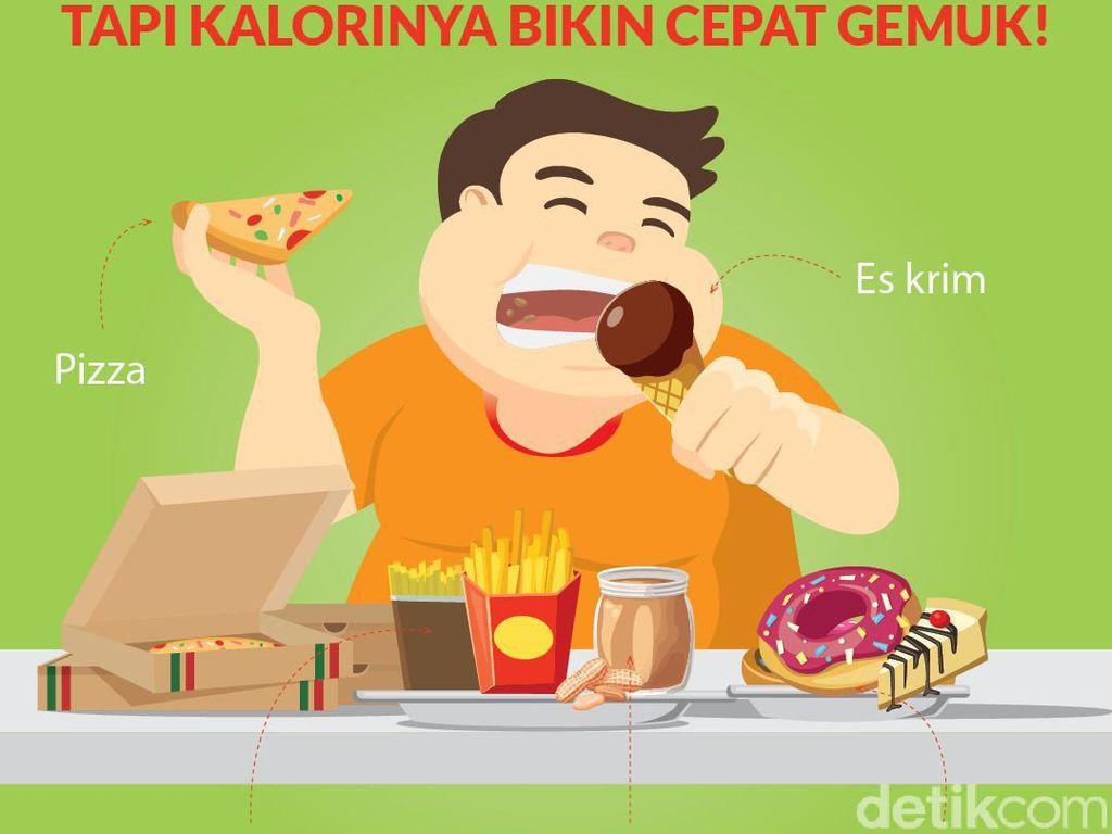 Camilan Ini Tinggi Kalori, Gigit Sedikit Saja Bisa Gemuk