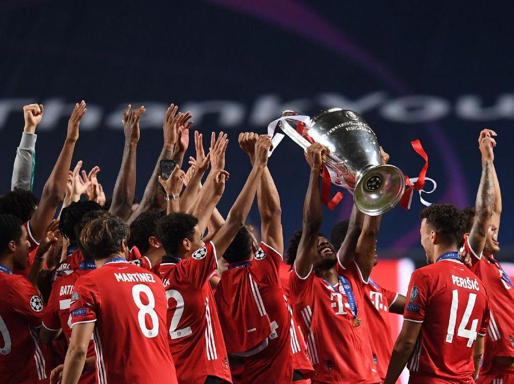 Coman Pede Bayern Samai Madrid, Hat-trick Juara Liga Champions