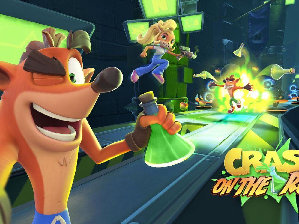Crash Bandicoot: On the Run Akan Hadir di Android dan iOS Tahun Depan