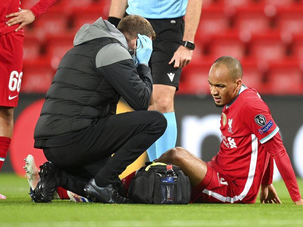 Liverpool Menang, Fabinho Malah Cedera