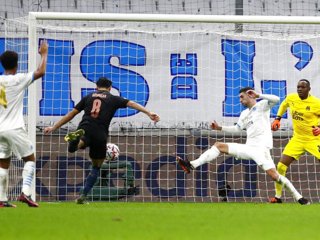 Marseille Vs Man City: The Citizens Menang 3-0