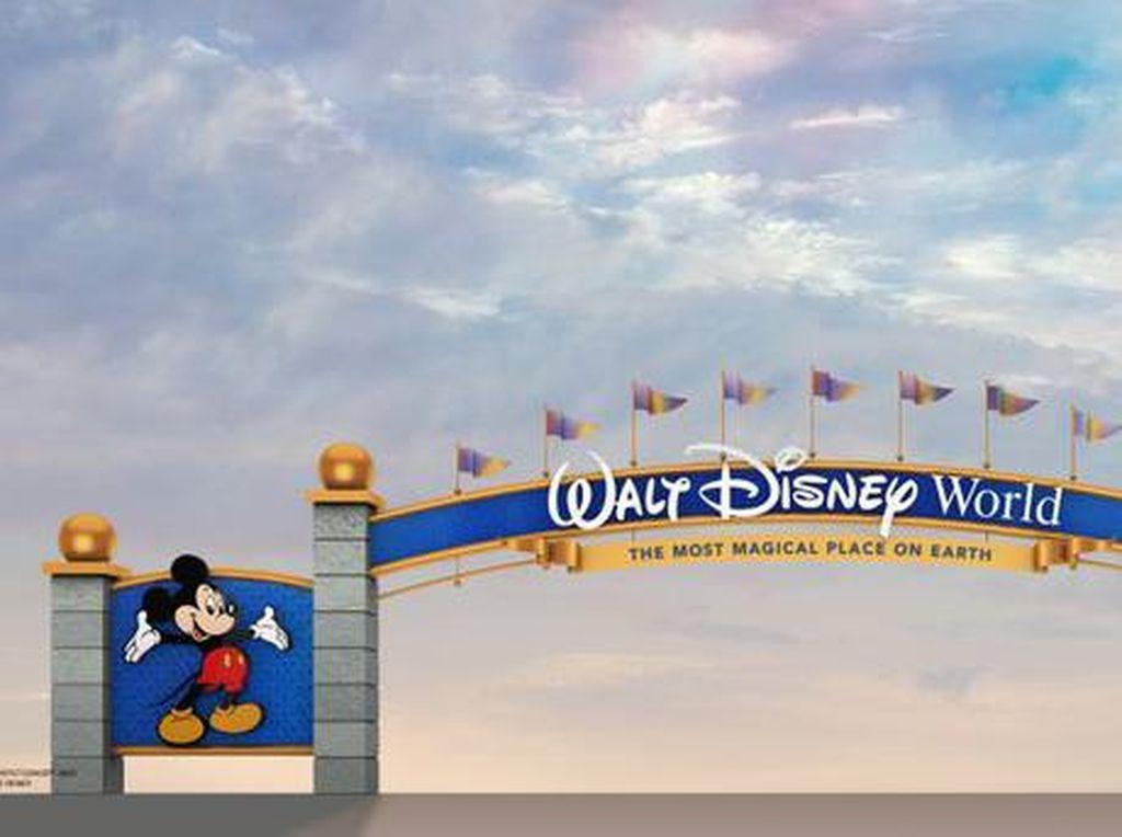 Disney World Renovasi Gerbang Utama, tapi Malah Dikritik Netizen
