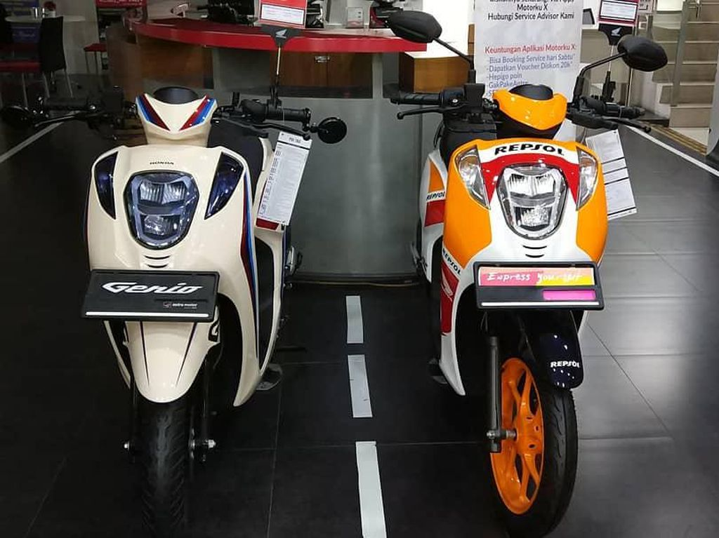 Honda Genio Tampil Racing ala Motor MotoGP