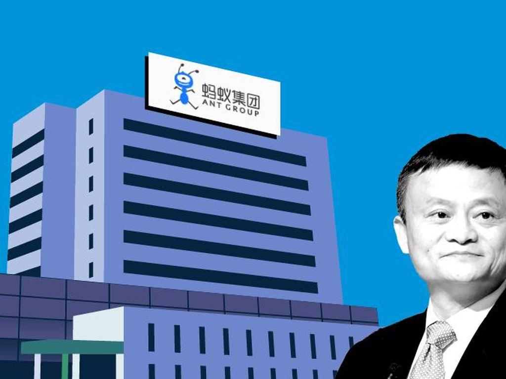 Kasihan, Perusahaan Jack Ma Diobrak-abrik Pemerintah China