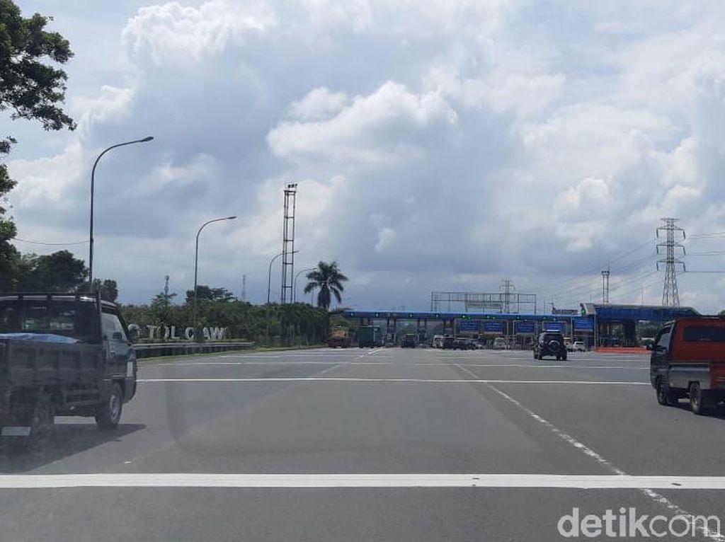 Cuti Bersama Hari Pertama, Jalan Jakarta-Bogor Ramai Lancar