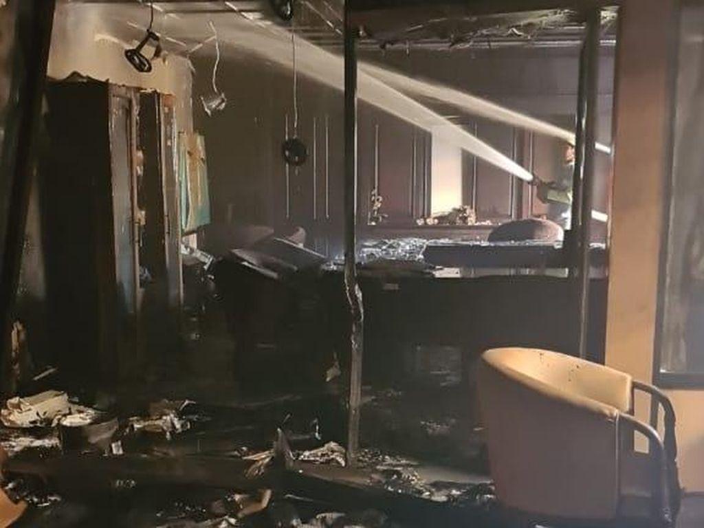 Ruang Fraksi PPP DPRD Kaltim Kebakaran, Penyebab Masih Diselidiki