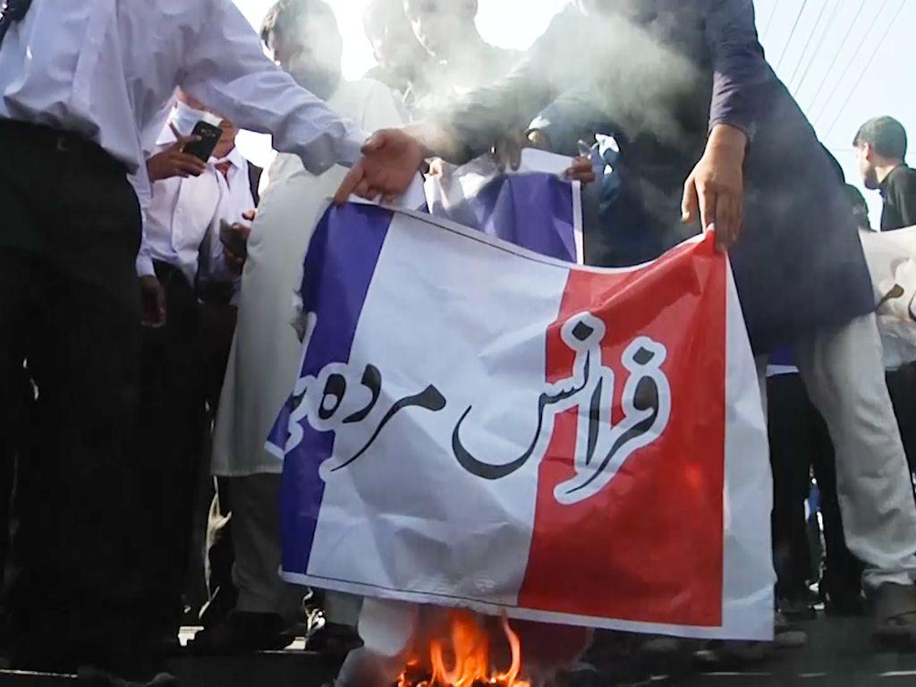 Ada Aksi Demo Anti-Prancis, Jalan Utama ke Ibu Kota Pakistan Ditutup