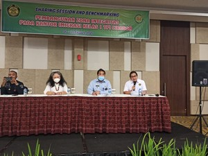 Di Kantor Imigrasi Cirebon, Kementerian ESDM Belajar Zona Integritas