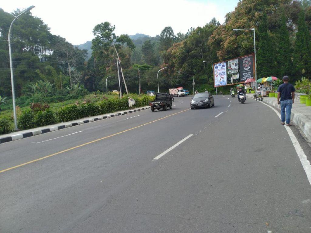 One Way Selesai, Lalin di Kawasan Puncak Bogor Kembali Normal Dua Arah