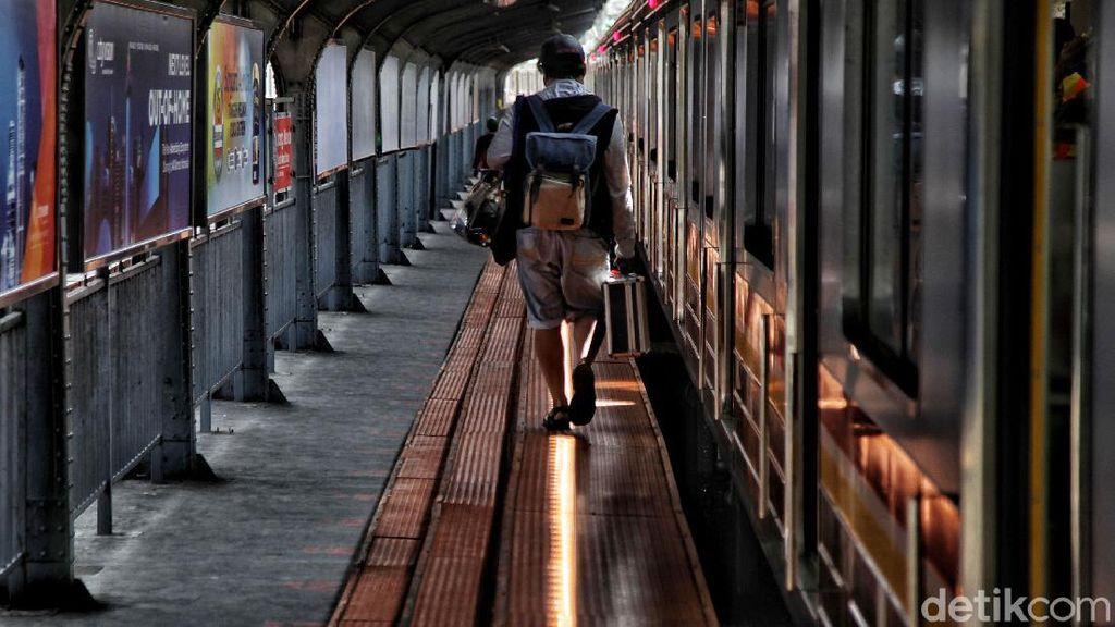 Libur Panjang, Stasiun Jakarta Kota Adem Ayem