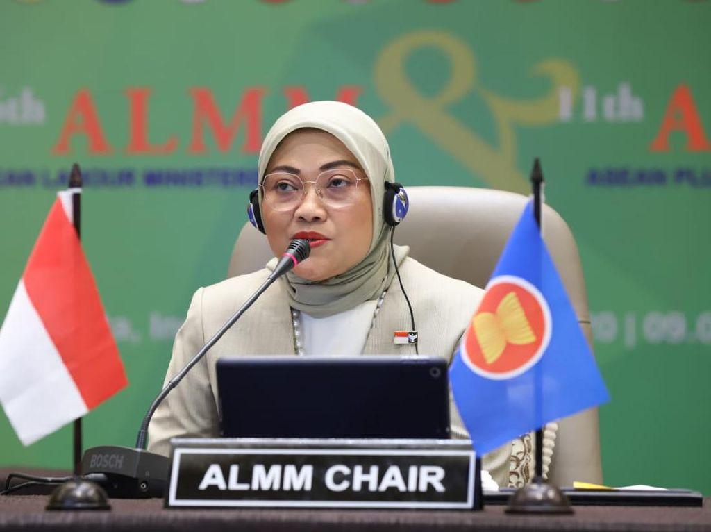 Ida Fauziyah Jadi Ketua Menaker se-ASEAN hingga 2022