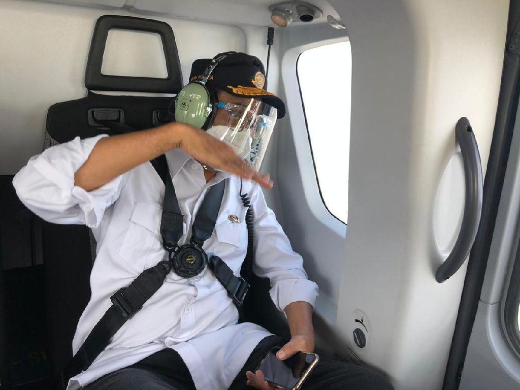 Saat Menhub Memantau Lalin Jakarta-Palimanan dari Udara