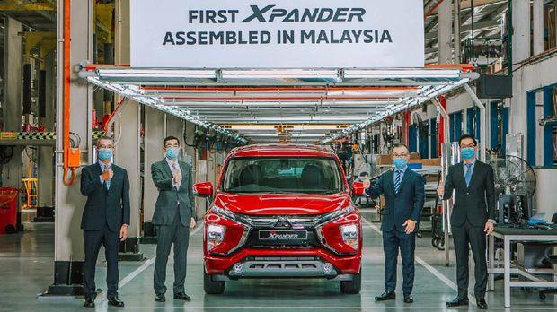 Mitsubishi mengumumkan perakitan perdana Xpander di Malaysia pada 28 Oktober 2020.