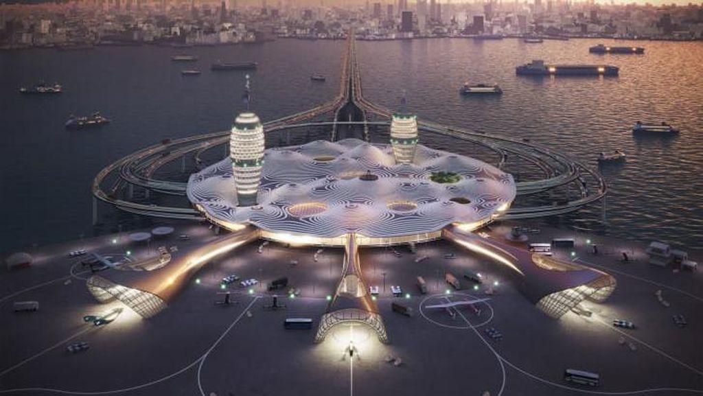 Bandar Antariksa Mengapung di Jepang