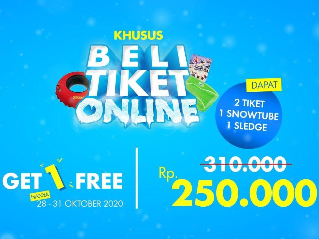 Libur Long Weekend ke Trans Snow World Bekasi, Ada Banyak Promo!
