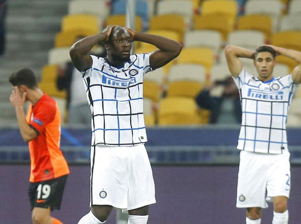 Shakhtar Vs Inter: Nerazzurri Tertahan 0-0