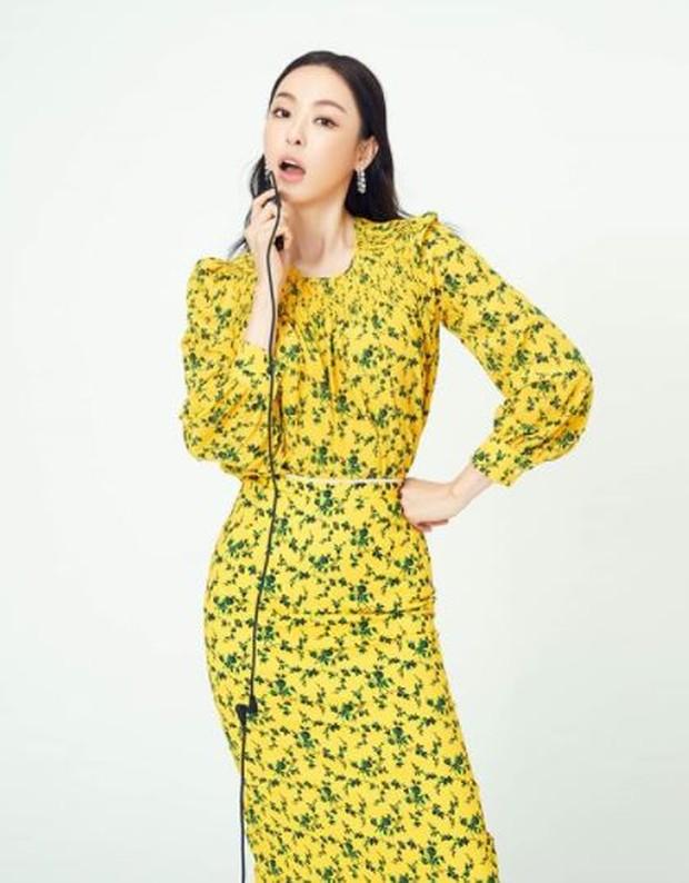 Tampil fresh dengan dress kuning