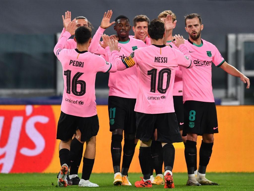 Liga Champions: Barcelona Unggul 1-0 Atas Juventus di Babak Pertama