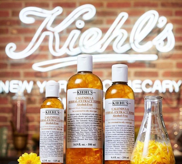 Calendula Herbal Extract Alcohol-Free Toner/ source: instagram.com/kiehlsid