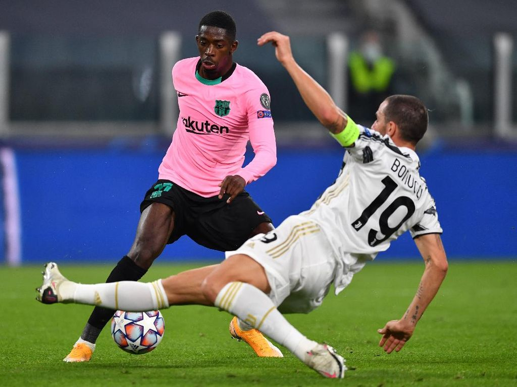 Juventus Intip Peluang Gaet Dembele dan Calhanoglu