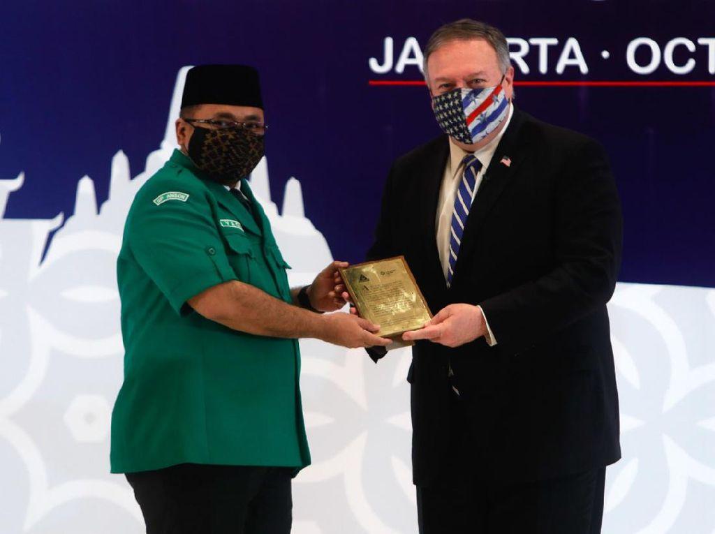 GP Ansor Kenalkan Islam Moderat ke Menlu AS: Tak Identik dengan Teror