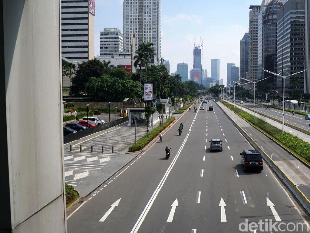Libur Panjang, Jalan di Ibu Kota Lengang