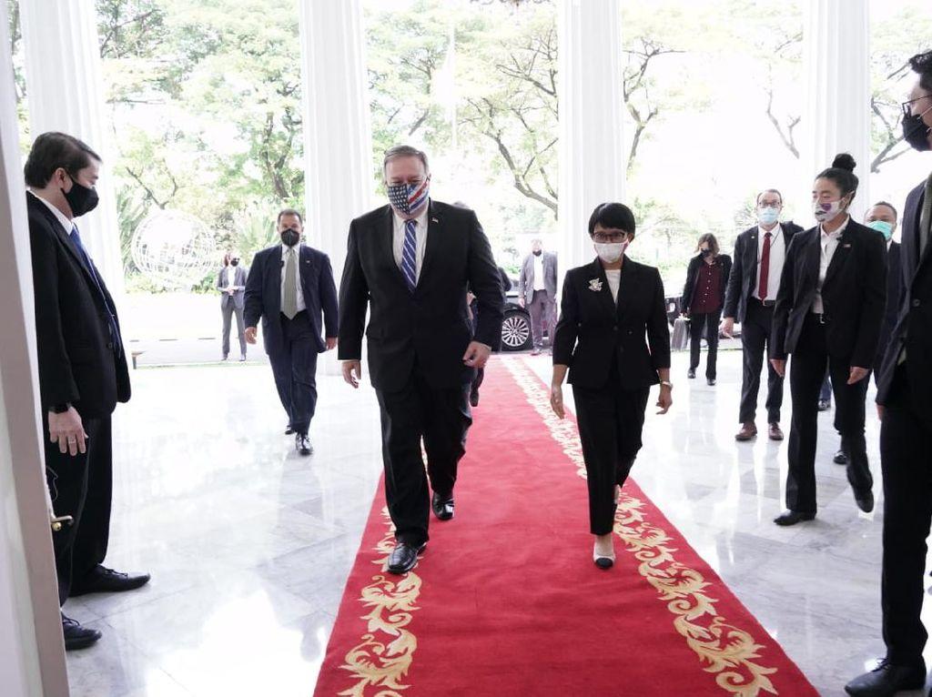 Temui Mike Pompeo, Menlu Retno Tegaskan Posisi Indonesia soal Palestina