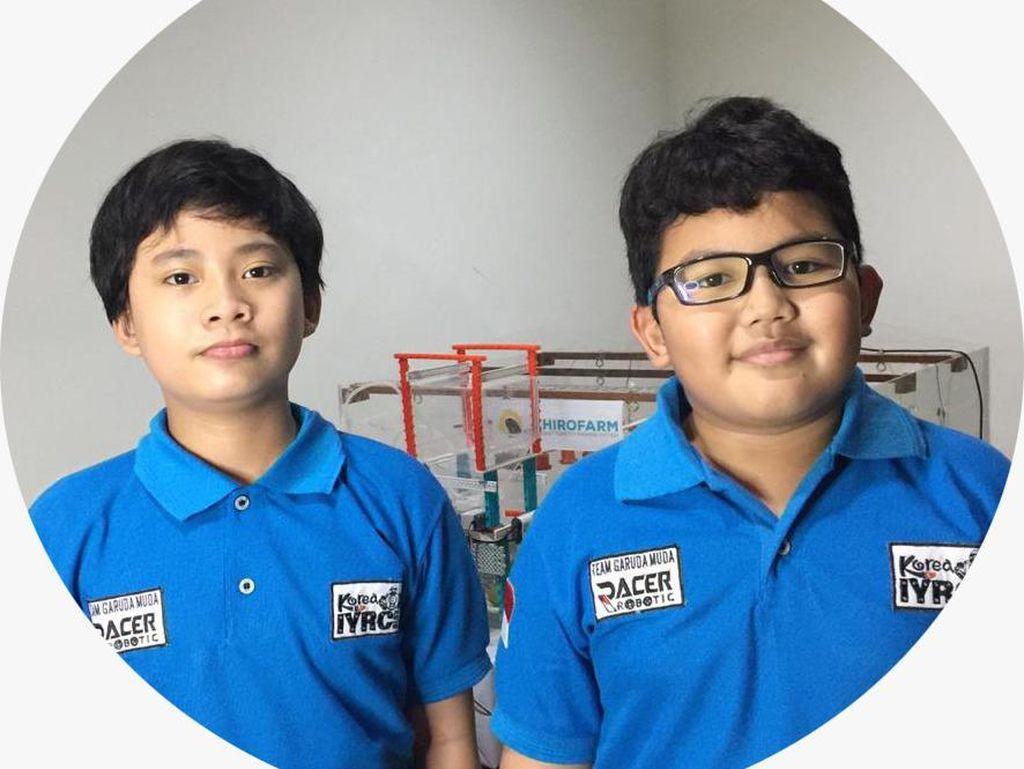 Keren! Bocah Bogor dan Sentul Bikin Sistem Pintar Ketahanan Pangan
