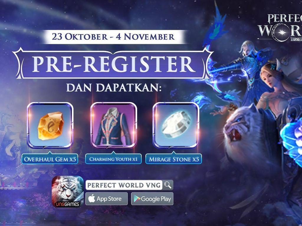 VNG Buka Masa Pre-registrasi Perfect World Mobile