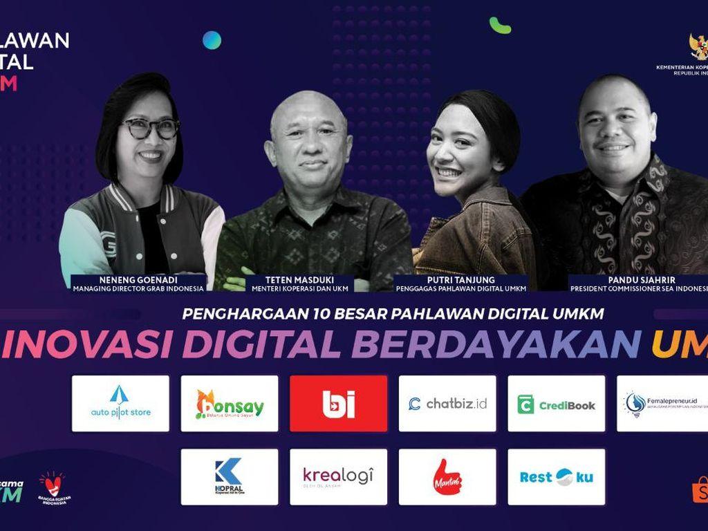 Inilah Para Pahlawan Digital UMKM 2020
