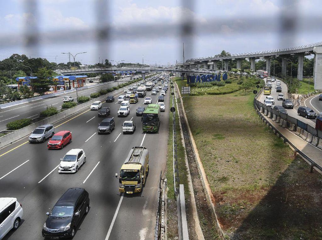 130 Ribu Kendaraan Kembali ke Jabotabek pada H+2 Libur Isra Mikraj