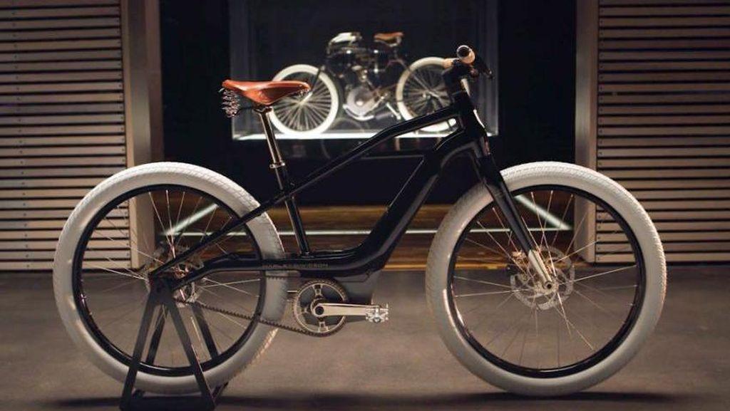 Melihat Lebih Dekat Sepeda Listrik Harley-Davidson