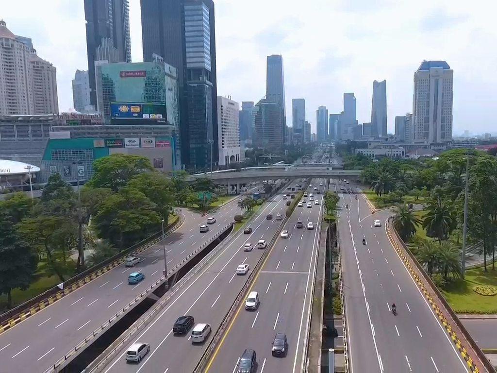 Wajah Jakarta Kala Cuti Bersama