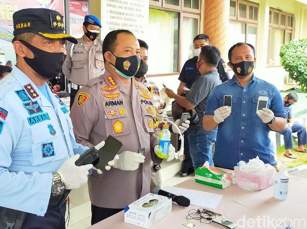 Dua Napi yang Kabur dari Lapas Banyuwangi Ditangkap Saat Pesta Sabu