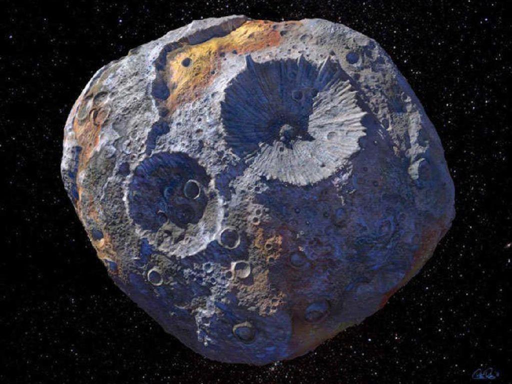 Asteroid Langka Nilainya 10.000 Kuadrilion Dolar!