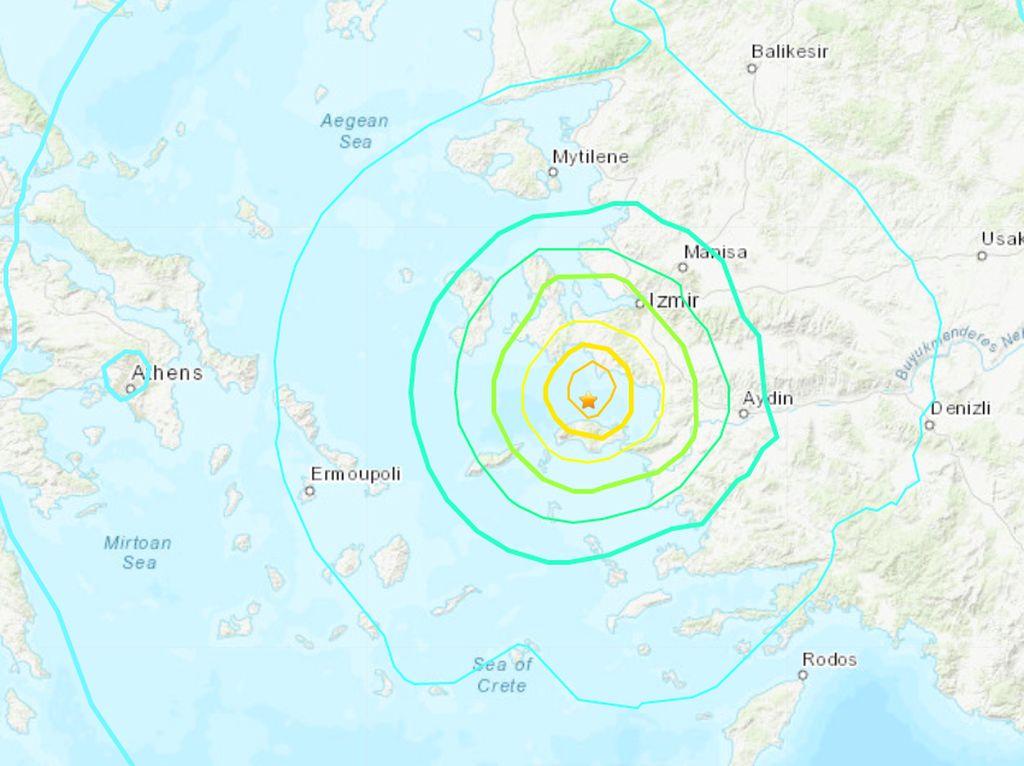 Terus Bertambah, Korban Luka Gempa Turki Jadi 257 Orang