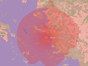 Ini Lokasi Gempa Besar yang Guncang Yunani-Turki