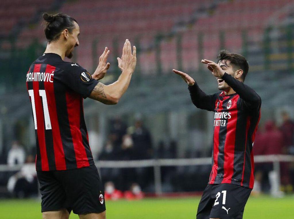 Hasil Liga Europa: AC Milan Taklukkan Sparta Praha 3-0